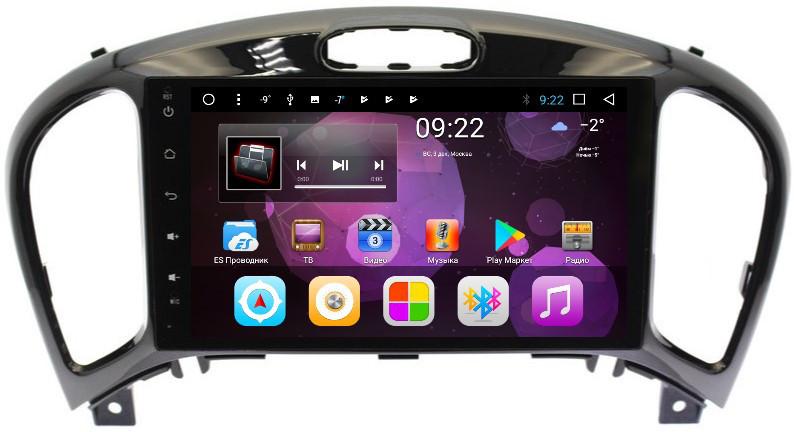 Штатная автомагнитола VOMI ST2739-T8 для Nissan Juke 2010+ на Android 8.1.0 (+ Камера заднего вида в подарок!) ветровики artway nissan juke 2014