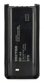 Аккумулятор для рации Vector VT-44 Std (BP-44 Std) рация vector vt 44 military 3