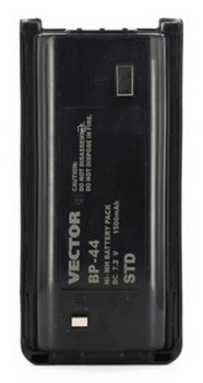 Аккумулятор для рации Vector VT-44 Std (BP-44 Std) рация vector vt 27 navigator