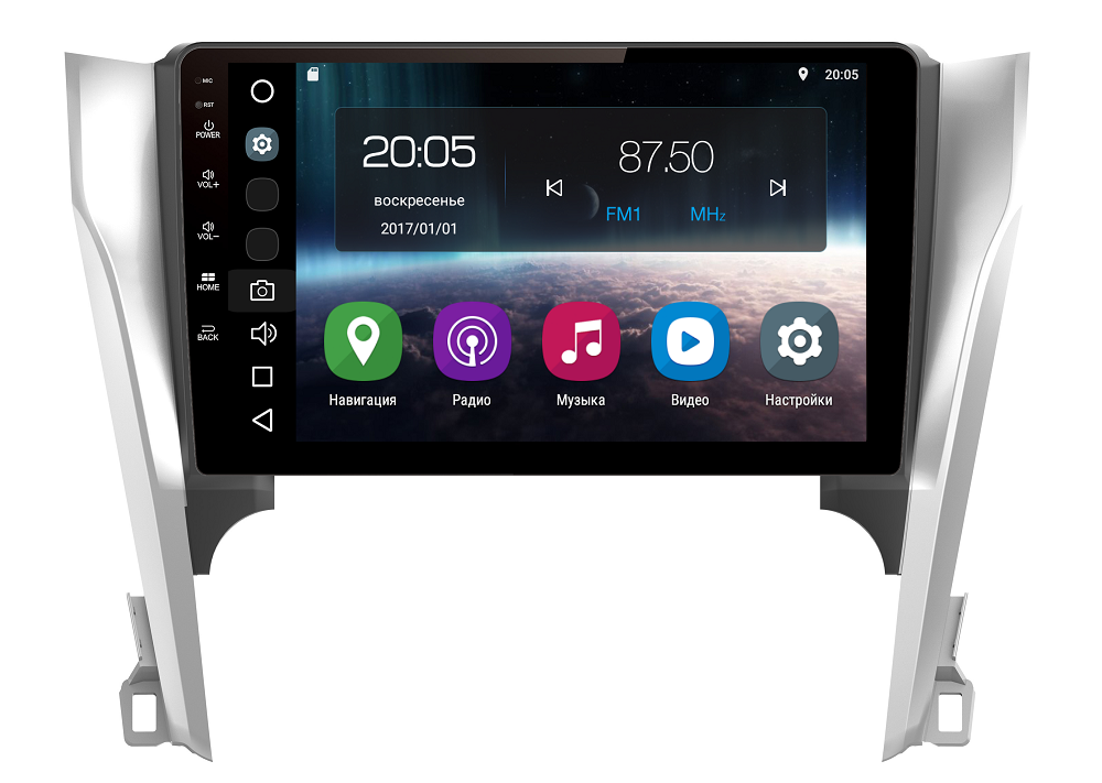 Штатная магнитола FarCar s200 для Toyota Camry 2012+ на Android (V131R-DSP)