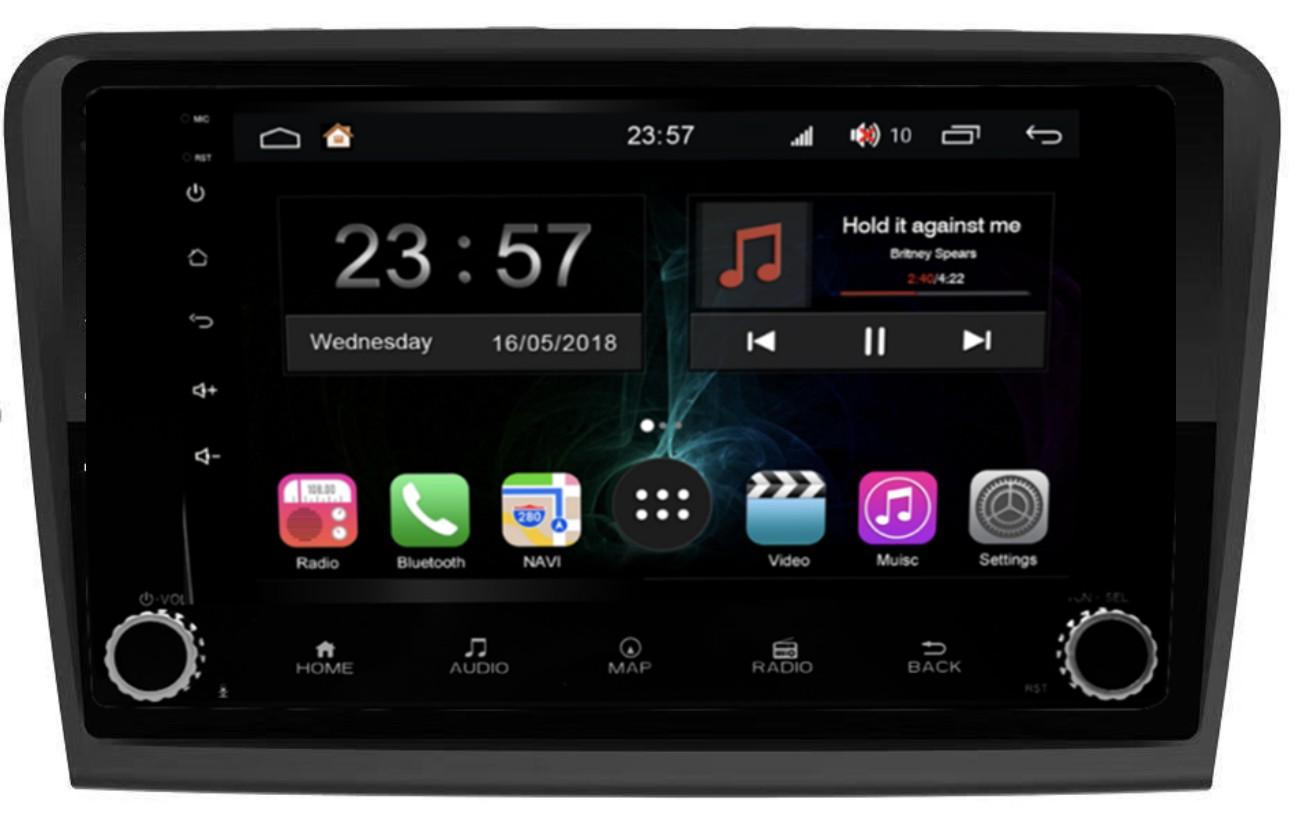 Штатная магнитола FarCar s300-SIM 4G для Skoda SuperB на Android (RG306RB) (+ Камера заднего вида в подарок!)