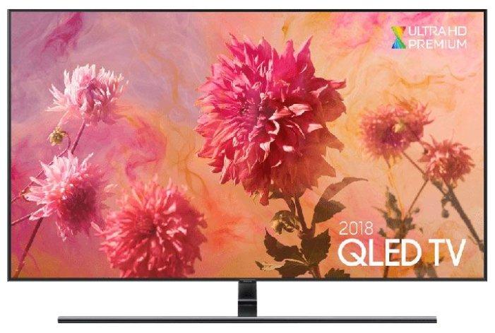 Телевизор Samsung QE55Q9FN, QLED, черный