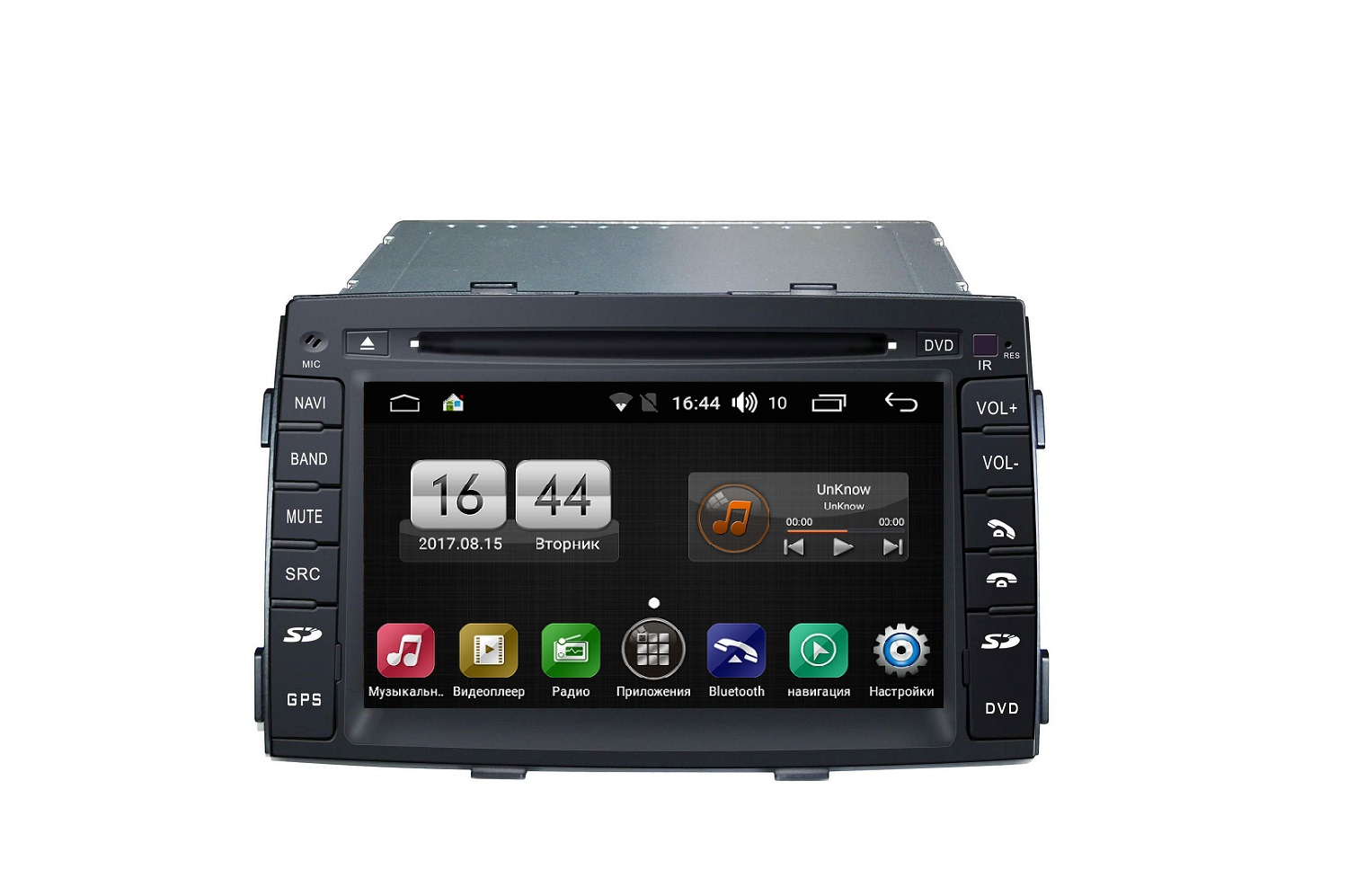 Штатная магнитола FarCar s170 для KIA Sorento на Android (L041) rungrace rl 470agnr universal 8 inch tft screen car dvd player android 4 2 2 support bluetooth gps rds fm am for kia sorento