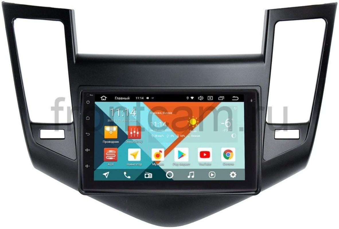Штатная магнитола Chevrolet Cruze I 2009-2012 Wide Media KS7001QR-3/32-RP-CVCRC-80 на Android 10 (API 29) (DSP CarPlay 4G-SIM) (+ Камера заднего вида в подарок!)