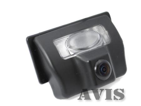 CCD штатная камера заднего вида AVIS AVS321CPR для NISSAN TEANA / TIIDA SEDAN (#064)