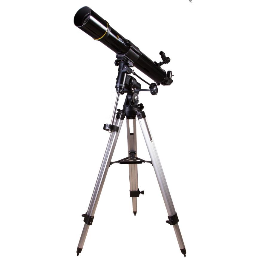 Телескоп Bresser National Geographic 90/900 EQ3 (+ Книга «Космос. Непустая пустота» в подарок!)