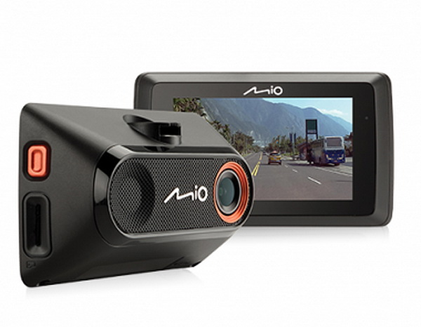 Видеорегистратор с GPS-сопровождением Mio MiVue 765 измерительная рулетка bmi radius 501214020bf 20 м