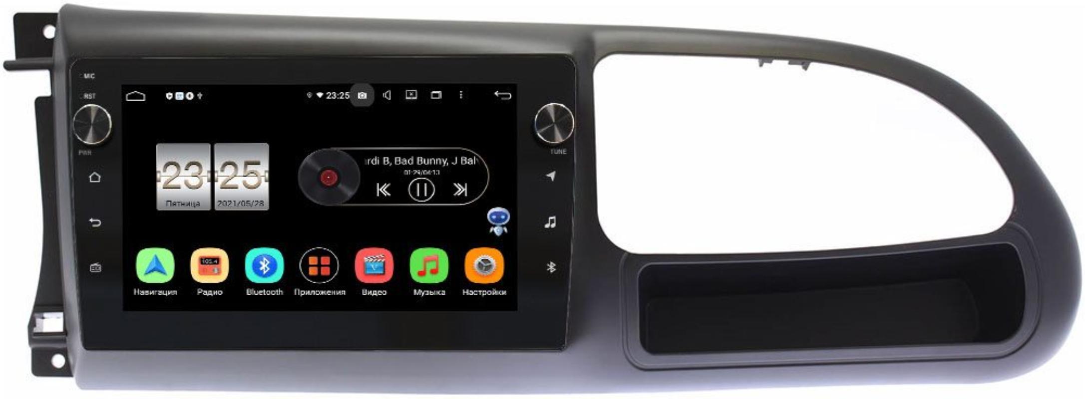 Штатная магнитола Ford Transit (2006-2013) LeTrun BPX409-9283 на Android 10 (4/32, DSP, IPS, с голосовым ассистентом, с крутилками) (+ Камера заднего вида в подарок!)