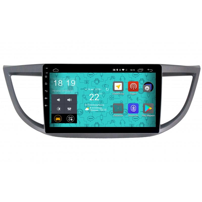 Штатная магнитола Parafar 4G/LTE с IPS матрицей для Honda CR-V 4 2012-2016 на Android 7.1.1 (PF983) (+ Камера заднего вида в подарок!)