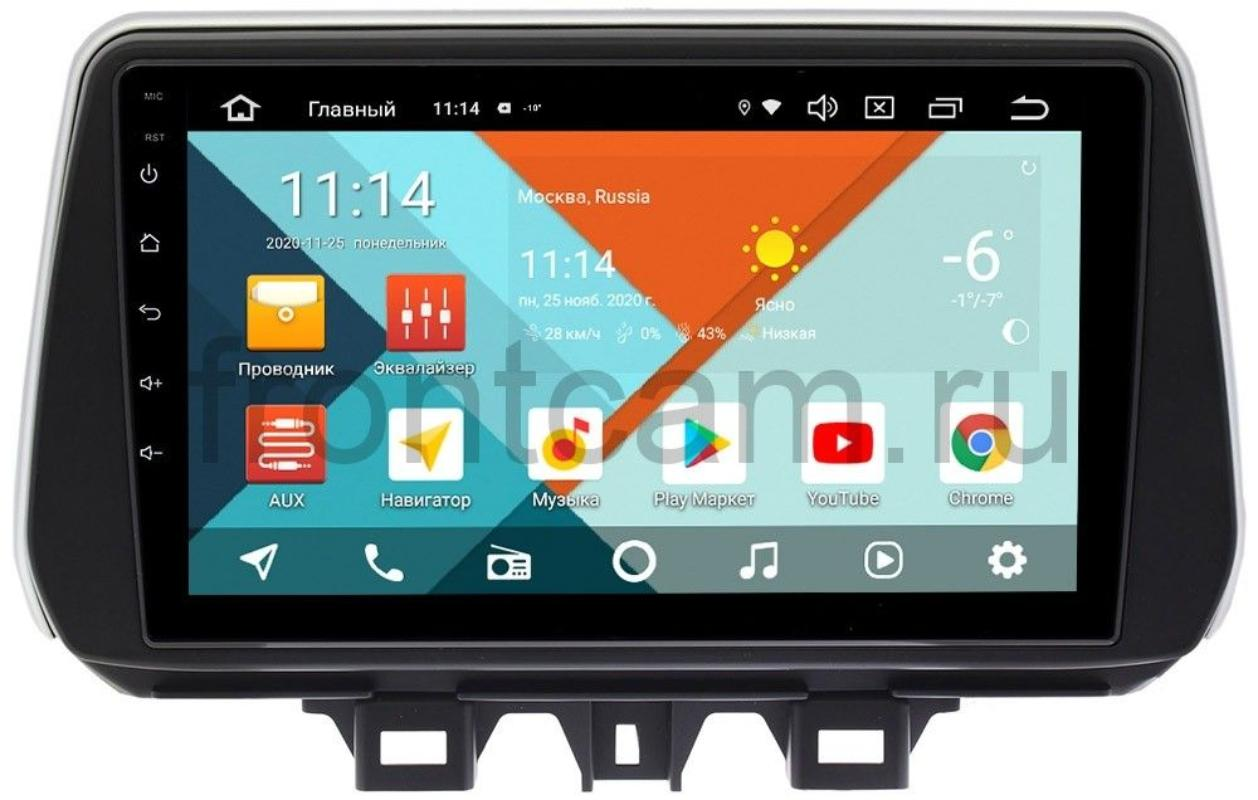 Штатная магнитола Wide Media KS9041PK MT9158QR-3/32 DSP CarPlay 4G-SIM для Hyundai Tucson III на Android 10 (+ Камера заднего вида в подарок!)