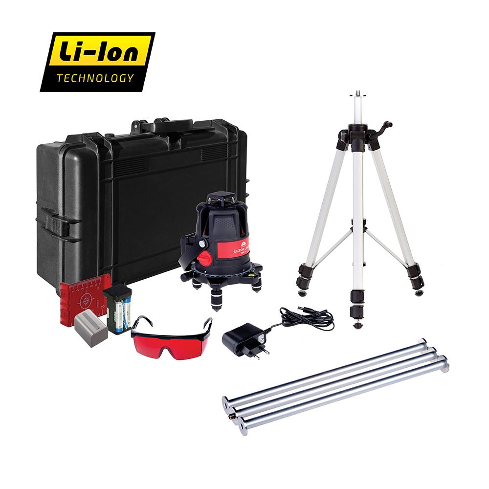 цена на Лазерный уровень ADA ULTRALiner 360 4V Set