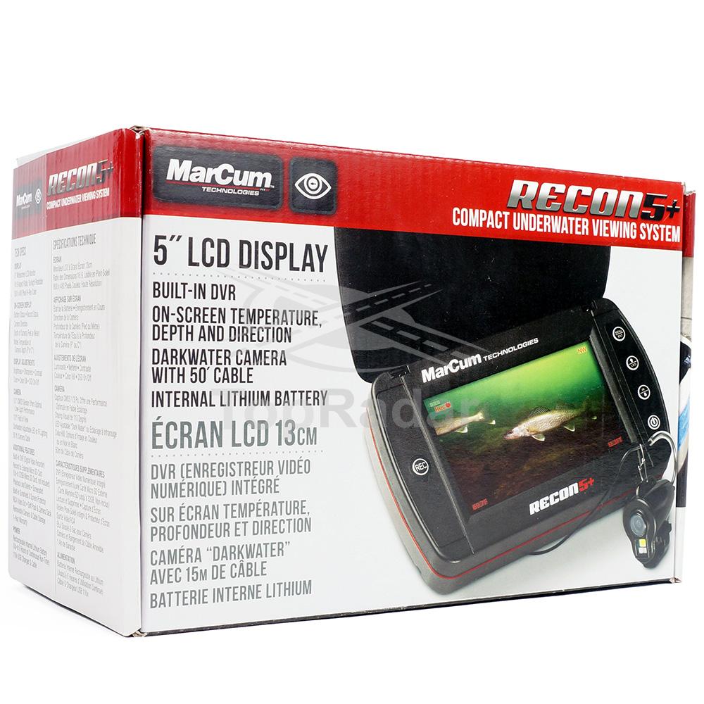 Подводная камера MarCum Recon 5 Plus (Карта памяти microSD на 32 ГБ в подарок!)