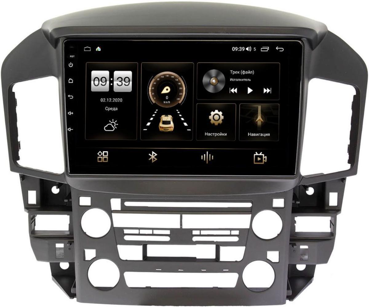Штатная магнитола LeTrun 4166-9218 для Toyota Harrier I (XU10) 1997-2003 на Android 10 (4G-SIM, 3/32, DSP, QLed) (+ Камера заднего вида в подарок!)