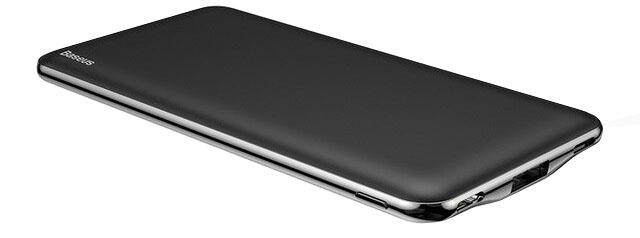 Портативное зарядное устройство Baseus Simbo Smart Power Bank 10000mAh Black цена