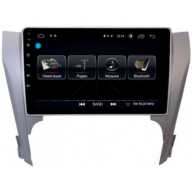 Штатная магнитола LeTrun 2442 для Toyota Camry V50 2011-2014 Android 8.0.1 MTK-L 2Gb 7060b 7 inch 12v auto 2 din bluetooth tft screen car audio stereo mp3 mp4 mp5 player support aux fm usb sd mmc