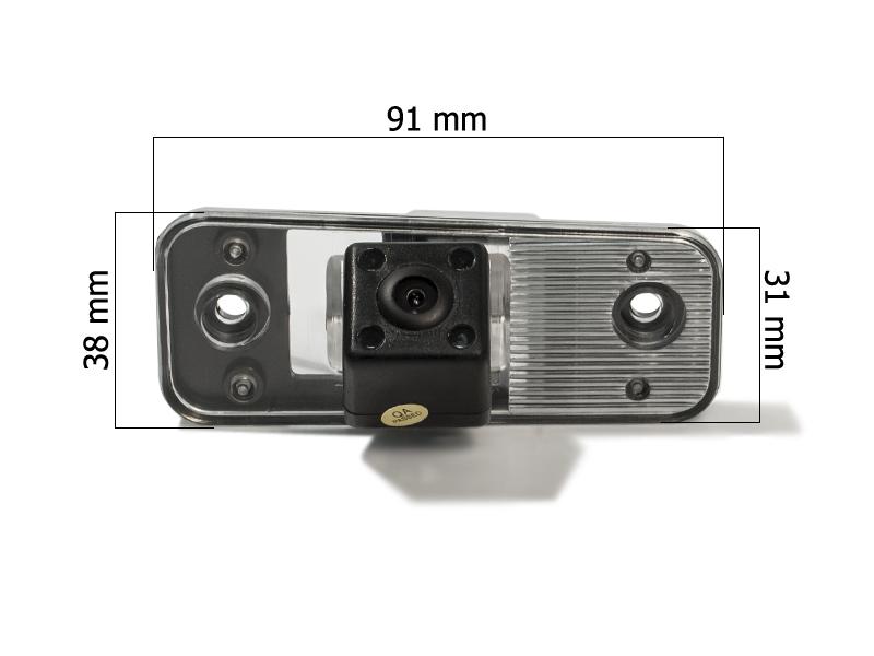 CMOS ИК штатная камера заднего вида AVIS Electronics AVS315CPR (#028) для HYUNDAI SANTA FE II (2006-2012)