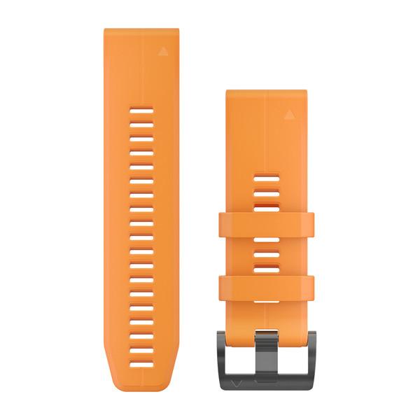 Garmin Ремешок сменный QuickFit 26 мм (силикон) оранжевый