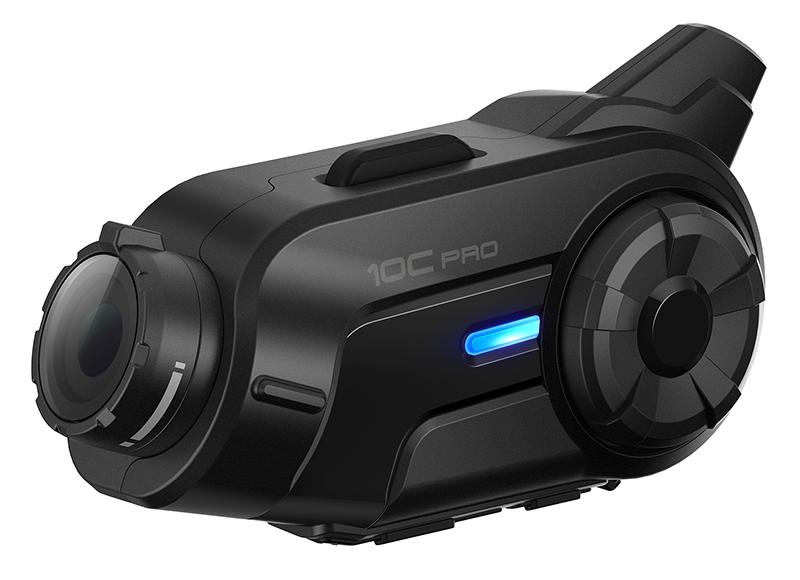 Мотогарнитура SENA 10C PRO со встроенной 2K экшн-камерой (+ Набор для ухода за транспортом в подарок!)