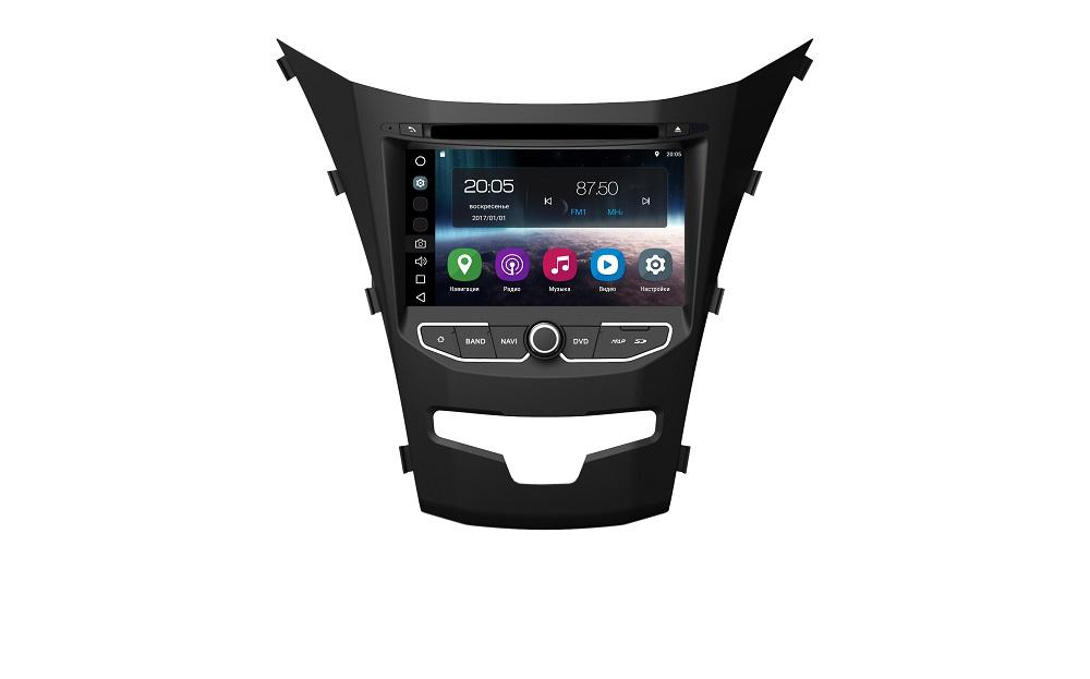 Штатная магнитола FarCar s200 для Ssang Yong Actyon 2013+ на Android (V355)