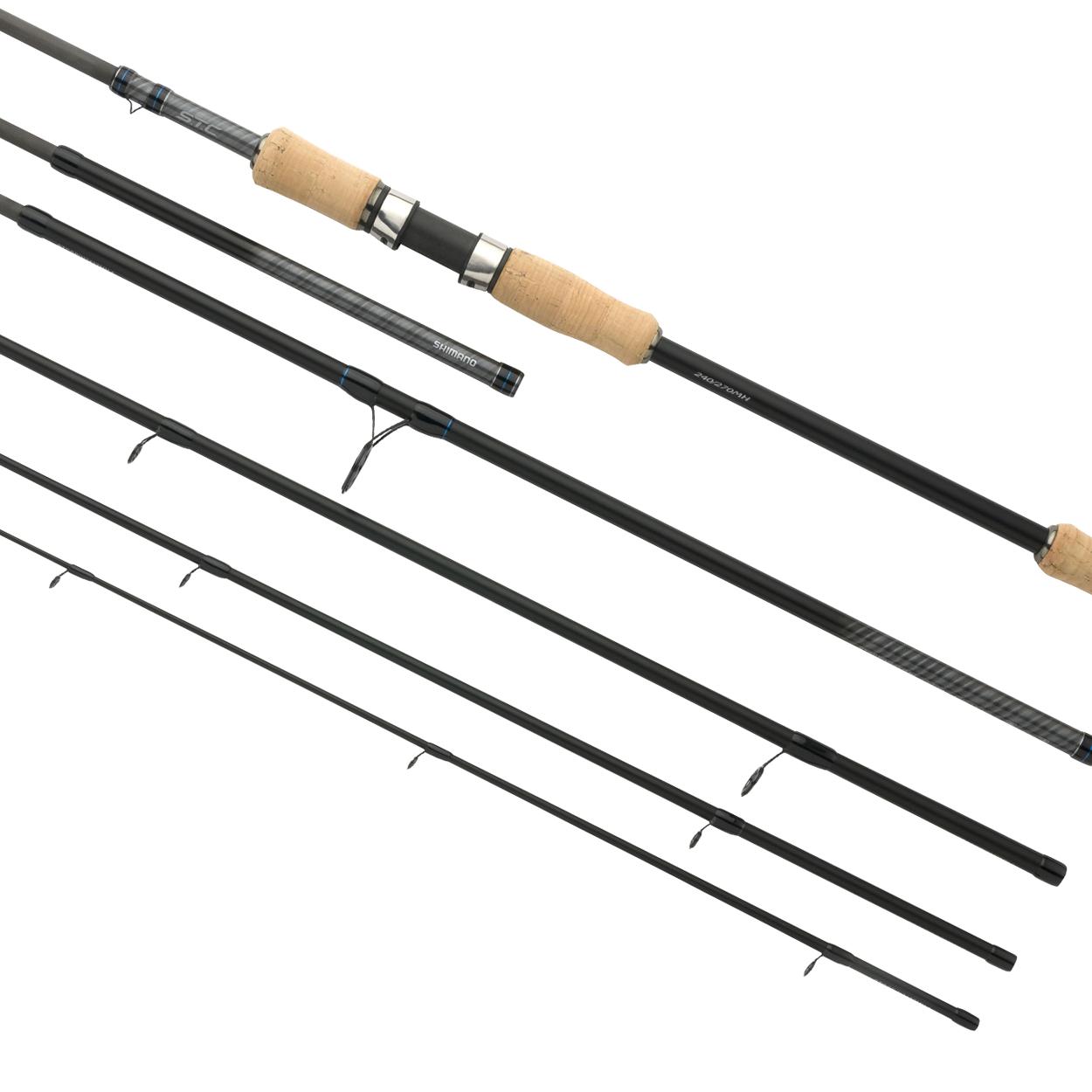 Удилище спиннинговое SHIMANO STC 210/240M 10-30 (+ Леска в подарок!) удилище salmo sniper spin 30 спиннинговое 2 1 м fast 30 г