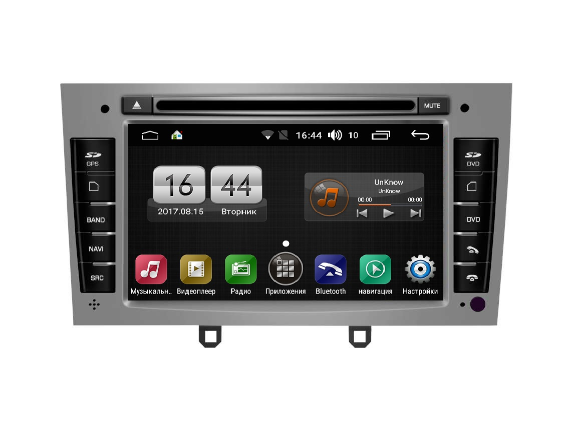 Штатная магнитола FarCar s170 для Peugeot 308/408 на Android (L083) junsun 7 inch hd car gps navigation with fm bluetooth avin multi languages europe sat nav truck car gps navigator with free maps