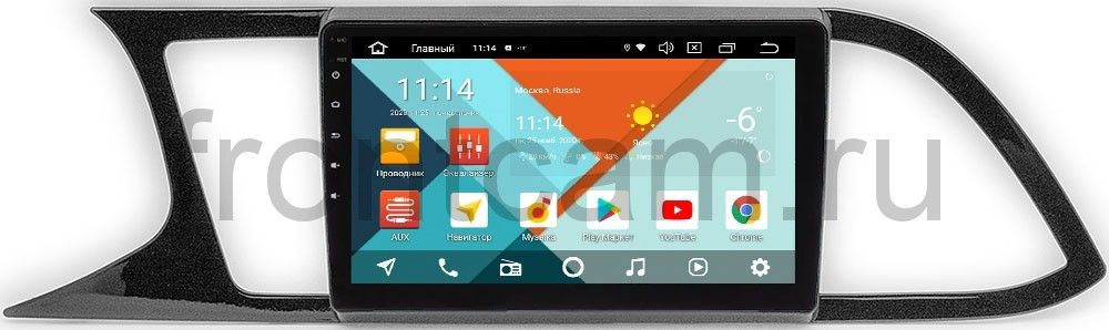 Штатная магнитола Seat Leon III  Wide Media KS9-224QR-3/32 DSP CarPlay 4G-SIM на Android 10 (+ Камера заднего вида в подарок!)