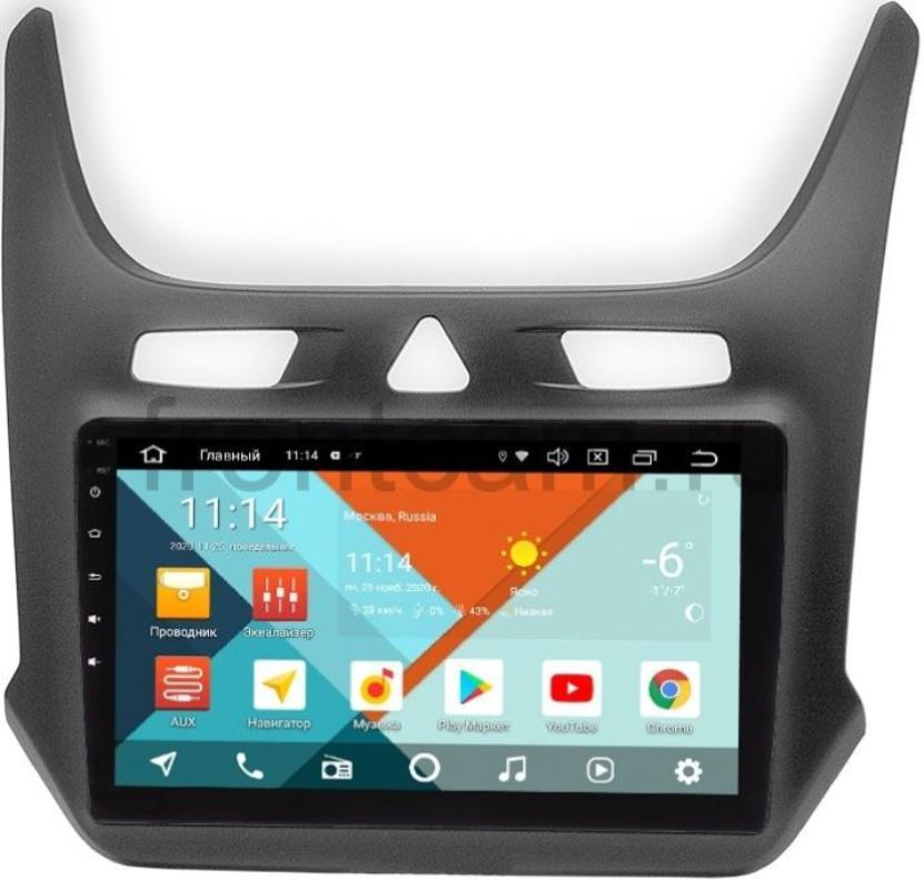 Штатная магнитола Chevrolet Cobalt II 2011-2015 Wide Media KS9-408QR-3/32 DSP CarPlay 4G-SIM на Android 10 (+ Камера заднего вида в подарок!)