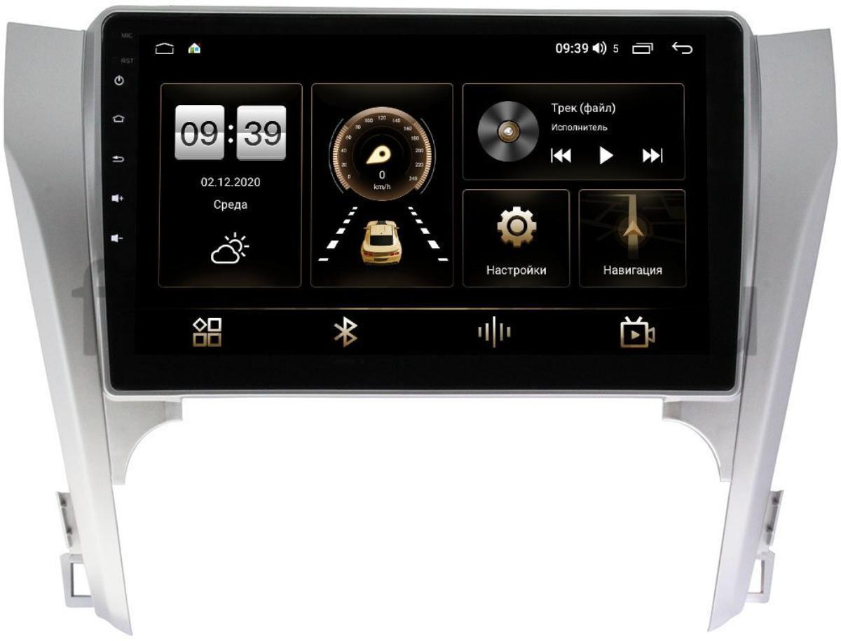 Штатная магнитола Toyota Camry V50 2011-2014 LeTrun 4165-1061 на Android 10 (4G-SIM, 3/32, DSP, QLed) (для авто без камеры) (+ Камера заднего вида в подарок!)