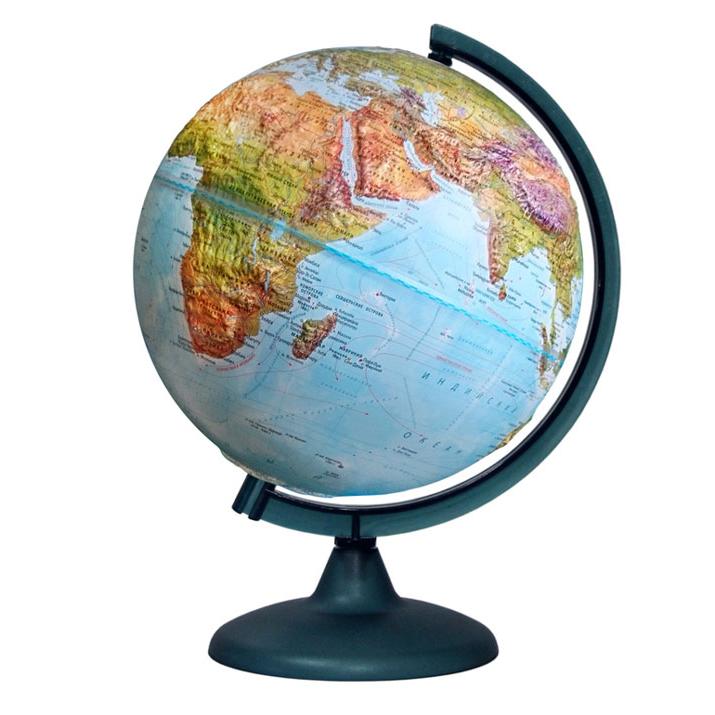 Фото - Глобус «Двойная карта» рельефный диаметром 250 мм, с подсветкой кружка пивная printio манчестер юнайтед