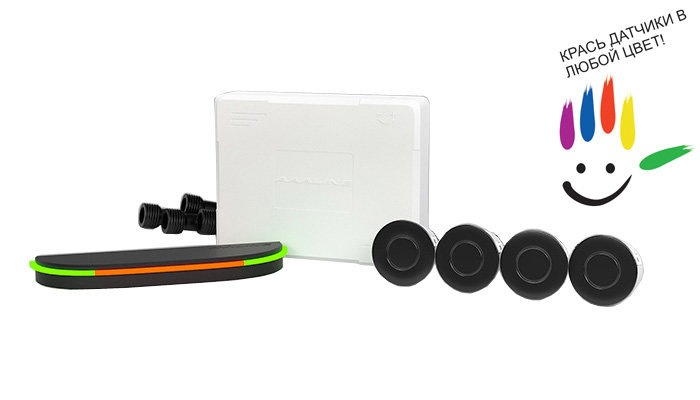 все цены на Парктроник модель AAALine SLED-14 Black онлайн