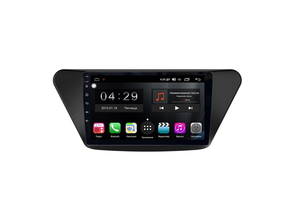 Штатная магнитола FarCar s300-SIM 4G для Lifan X50 на Android (RG561R) (+ Камера заднего вида в подарок!)