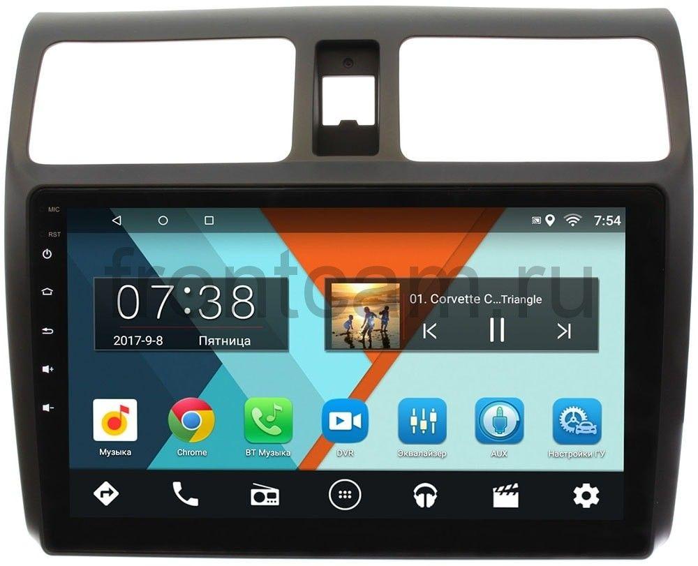 Штатная магнитола Suzuki Swift III 2004-2010 Wide Media MT1024MF-2/16 на Android 7.1.1 (+ Камера заднего вида в подарок!)