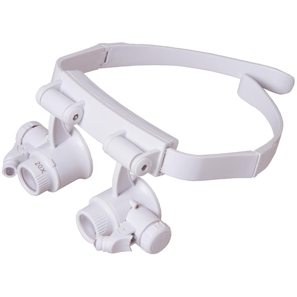 Фото - Лупа-очки Levenhuk Zeno Vizor G6 (+ Автомобильные коврики для впитывания влаги в подарок!) лупа очки zhengte mg9892a 20x