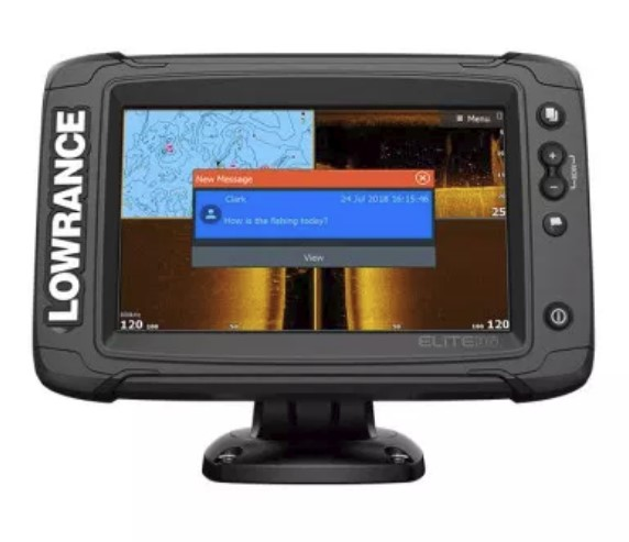 Lowrance Elite-7 Ti2 with Active Imaging 3-in-1 (ROW) (+ Леска в подарок!)