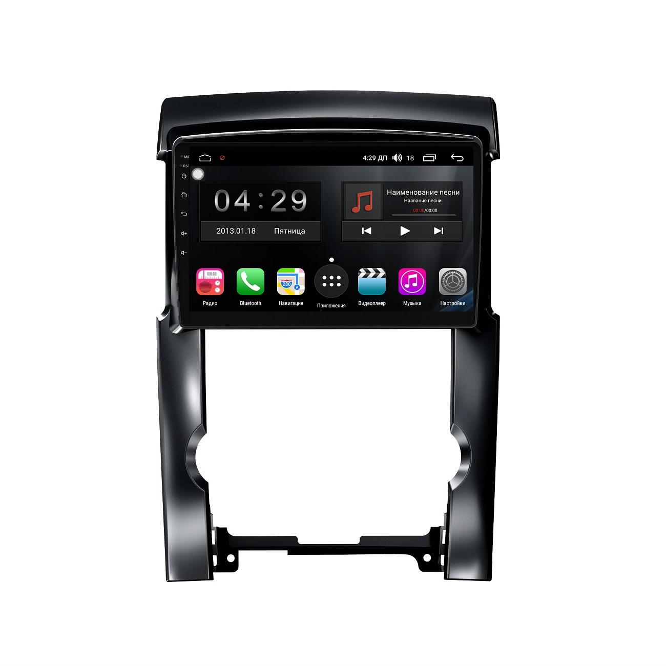 Штатная магнитола FarCar s300-SIM 4G для Kia Sorento II 2010-2012 на Android (RG041R) (+ Камера заднего вида в подарок!)