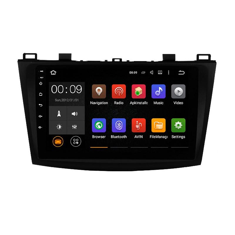 Штатная магнитола Roximo 4G RX-2414 для Mazda 3 2009-2012 (Android 6.0) (+ Камера заднего вида в подарок!)