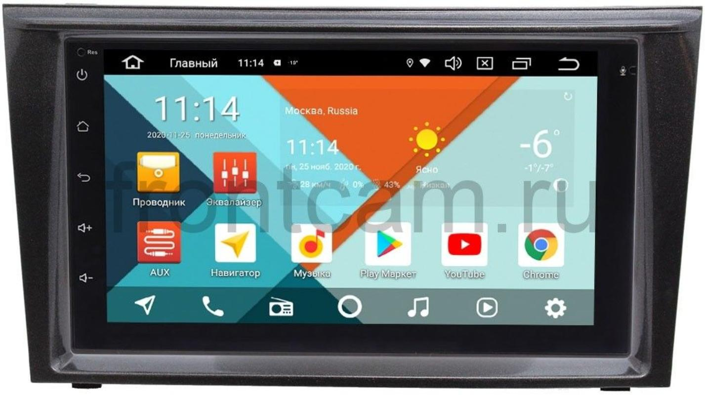Магнитола для Mitsubishi Colt VI 2002-2012 (правый руль) Wide Media KS7001QR-3/32-RP-MMCP-152 на Android 10 (API 29) (DSP CarPlay 4G-SIM) (+ Камера заднего вида в подарок!)