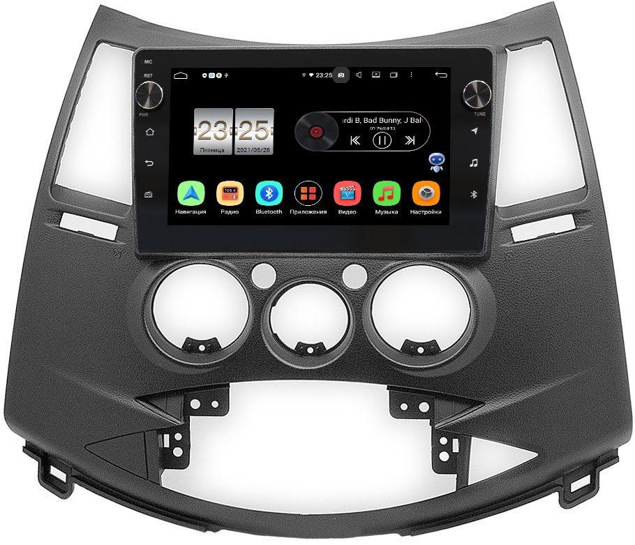 Штатная магнитола LeTrun BPX609-086 для Mitsubishi Grandis 2003-2011 на Android 10 (4/64, DSP, IPS, с голосовым ассистентом, с крутилками) (+ Камера заднего вида в подарок!)