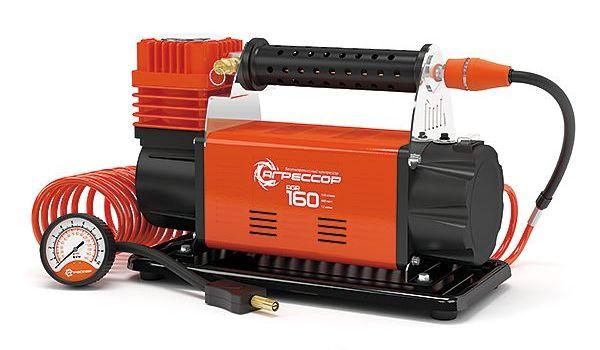 Компрессор автомобильный Агрессор AGR-160 автомобильный компрессор агрессор agr 6lt