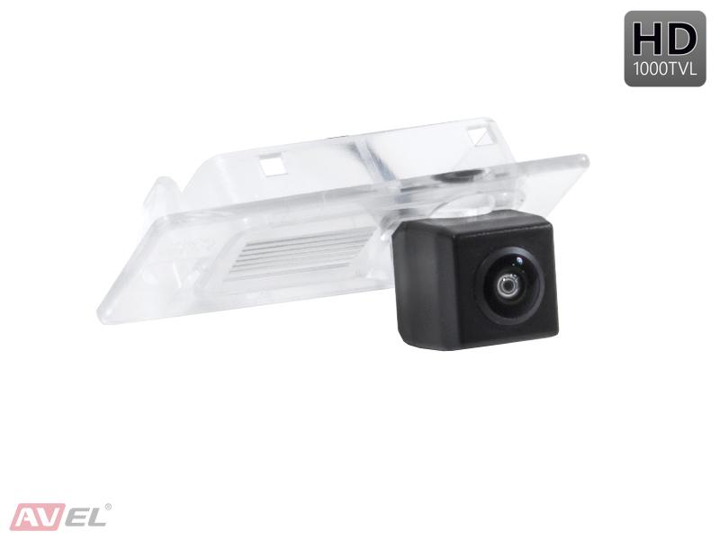 CCD HD штатная камера заднего вида AVS327CPR (#191) для HYUNDAI SOLARIS (2017+)/ ELANTRA VI (2016+)