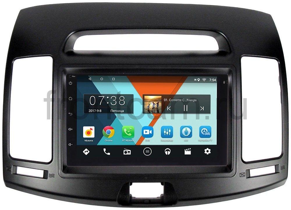 Штатная магнитола Hyundai Elantra IV (HD) 2006-2011 Wide Media MT7001-RP-HDHD-30 на Android 7.1.1 (+ Камера заднего вида в подарок!)