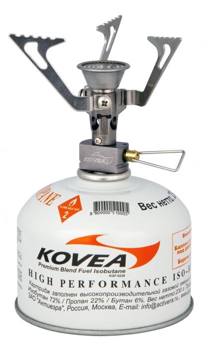 Горелка газовая Kovea Flame Tornado (+ Поливные капельницы в подарок!) kovea kdw mh1200