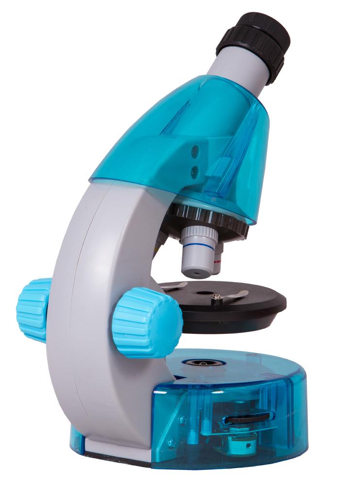 Фото - Микроскоп Levenhuk LabZZ M101 Azure\Лазурь микроскоп levenhuk labzz m101 lime 69034