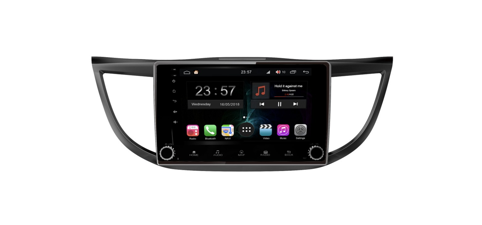 Штатная магнитола FarCar s300-SIM 4G для Honda CR-V на Android (RG469RB) (+ Камера заднего вида в подарок!)