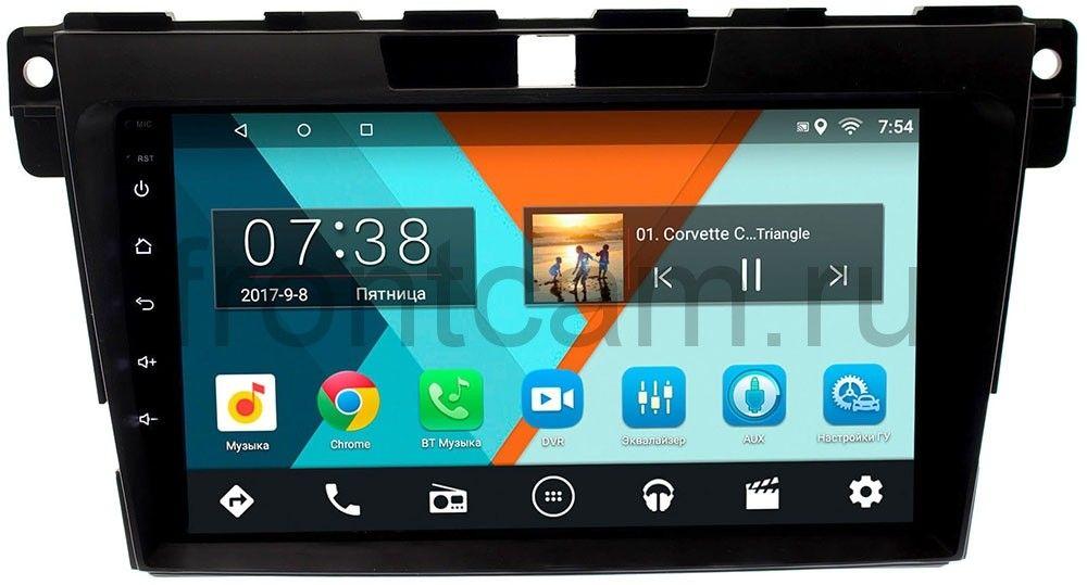 Штатная магнитола Mazda CX-7 I 2006-2012 Wide Media MT9073MF-2/16 на Android 7.1.1 (+ Камера заднего вида в подарок!)