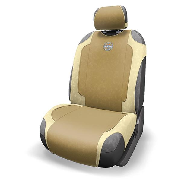 Чехол-майка с подогревом ЖАRА HOT-700 D.BE/L.BE (LCD контроллер, т.беж./св.бежевый) чехол на сиденье autoprofi gob 1105 bl romb m