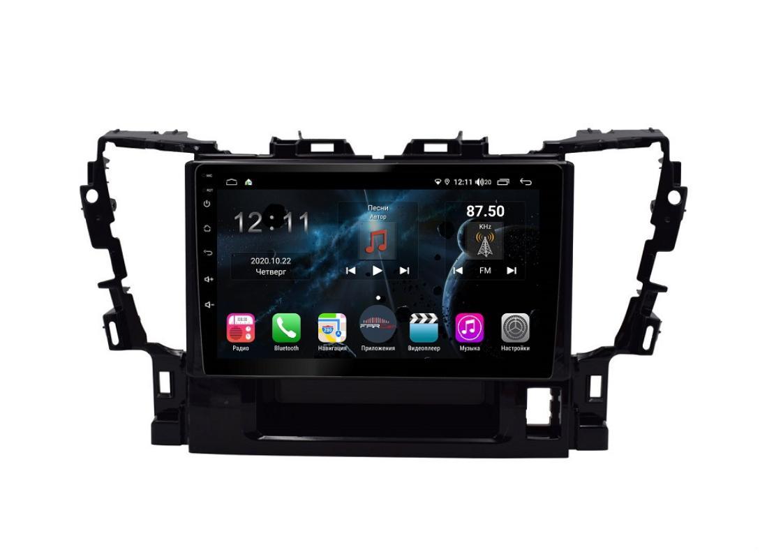 Штатная магнитола FarCar s400 для Toyota Alphard на Android (TG564R) (+ Камера заднего вида в подарок!)