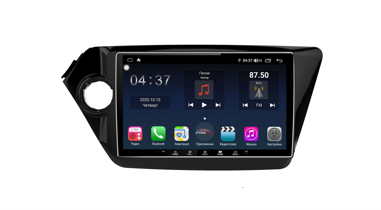 Штатная магнитола FarCar s400 для KIA Rio на Android (TG106R) (+ Камера заднего вида в подарок!)
