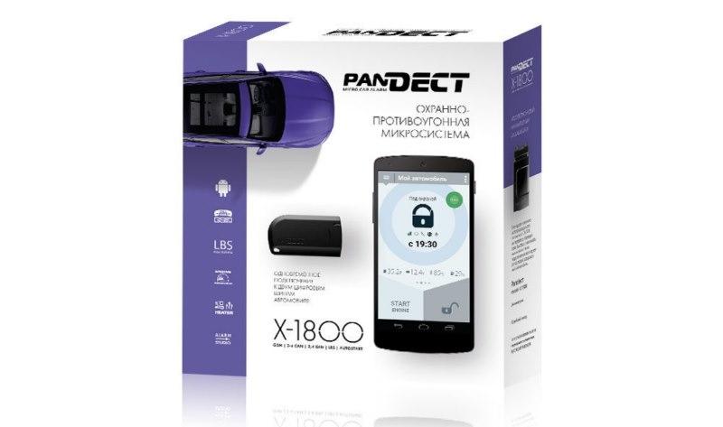 Автосигнализация Pandect X-1800 pandect x 1100