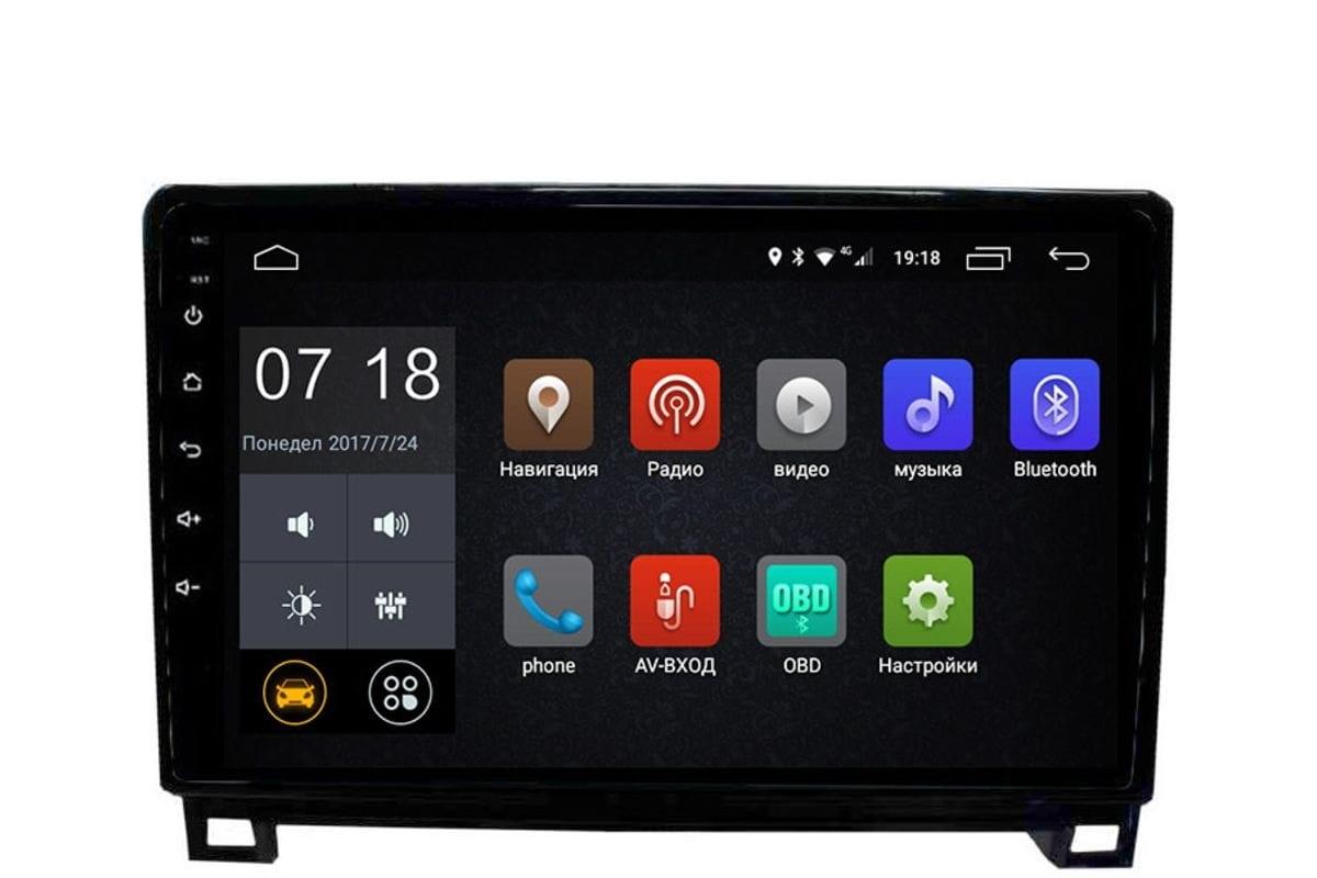 Штатная магнитола Toyota Tundra II, Sequoia II 2008-2018 LeTrun 2904 Android 6.0.1 10 дюймов (4G LTE 2GB) (+ Камера заднего вида в подарок!)